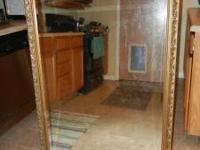 Large Mirror for sale. The size is approximately 3 feet