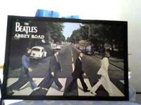 Nice great condition large framed beatles abby road