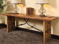 Reclaimed Elm Console Table makes certain to obtain