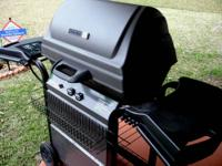 Patio Kitchen by Char Broil gas grill plus propane tank