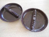 "These are two 7"" size plastic ashtrays, made in the"