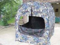 Just in time for hunting season. Large pop-up hunting