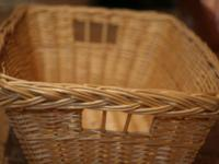 THE SIZE MEASUREMENTS:. The top of the basket