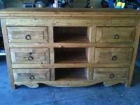 Very nice dresser made in New Mexico. Call or text at .
