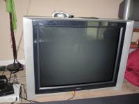Large screen television for sale! It is around 42