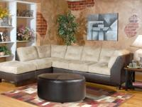 Large 2550 sectional has a conventional look with a