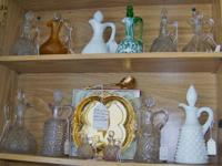 WE HAVE A WONDERFUL VARIETY OF VINTAGE CRUETS. THE