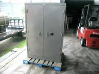 "This very large Shaw-Walker safe is described as ""built"