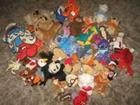 I have a large lot of stuffie play toys ranging from