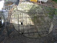 I am selling a large sturdy Kennel. This is the type of