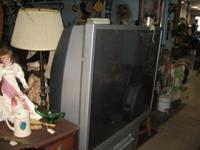 Huge T.V. Nice Condition still works. See us on