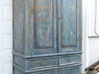 Large Armoire--shabby chic?--French provincial style
