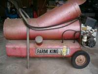 Large heater for the shop, garage or outdoors, uses