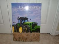 Large Tractor Book with many tractors featured.