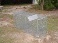 Large Trapping Cage asking $150.00 can be reached at
