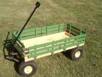 Large kids Garden or Utility garden wagon. Paid 150.00