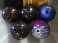 Large Variety Of Bowling Ball $25 Each Vintage Bowling