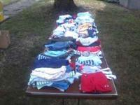 We have combined all these clothes; shoes, unworn