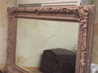 FOR SALE Large Victorian style mirror. 72 in. x 51in.