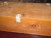 Large Vintage Military Wooden Ammo Box $125.00 trades