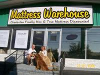 Large Stockroom Filled with BED MATTRESS COLLECTIONS.