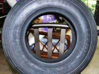 New wheel barrow tire for tubless installation