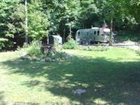 Quiet private campground on the Chaumont River a