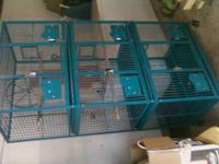 Three cages in one!! Large triple stack A&E parrot cage