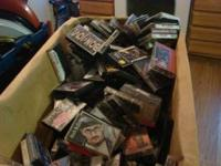 i have a l;arge box of cassettes many differant artist