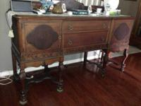 Large buffet in good condition w/exception. See photos.