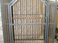 Large custom built cage for parrot/macaw/reptile or