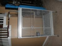 Hi! We have for sale a large California King bird cage.