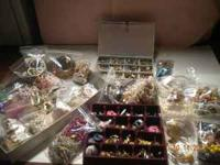 Costume Jewelry lot for sale, $100.00 cash only!