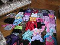 THIS IS A LARGE ASSORTMENT OF GIRLS SIZ 6 AND 6X