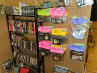 Big selection of various sorts of video clip games at