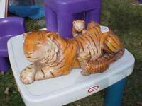 HAVE FOR SALE A BEAUTIFUL MOTHER TIGER W/ HER CUBS-