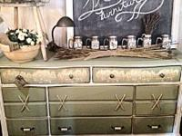 A big vintage dresser refinished. Great deals of
