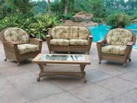 We sell high end quality wicker furniture. See our