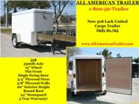 Lark United, Lark Trailer, Lark United Cargo Trailer,