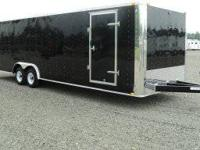 Stock 17821 Type Code CTST Type Enclosed Car Trailer