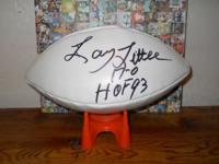 Miami Dolphins great Larry little autograph alumni NFL