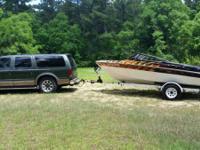 90's Larson ski boat 19'... fresh rebuilt mercruiser