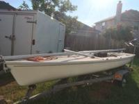 Selling my Laser 2 sailboat shown in the pictures.
