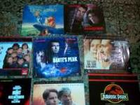 SELLING A NUMBER OF LIKE NEW LASER DISCS....TITLES