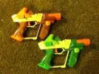 2 laser tag guns for 20.00 dollars missing glasses.