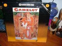 BRAND NEW LASER VIDEO DISC/CAMELOT,NOT OPENED/IN
