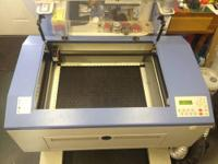 2006 Mercury M-Series 25 Watt Laser Engraver Package