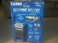 LASKO CYCLONIC CERAMIC HEATER WITH REMOTE CONTROL. ONLY