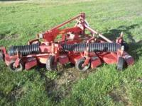 This is a Lastec three point hitch,pto driven, finish