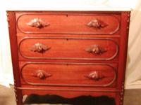 This a Great Deal, Late 1800's Walnut Dresser,  with